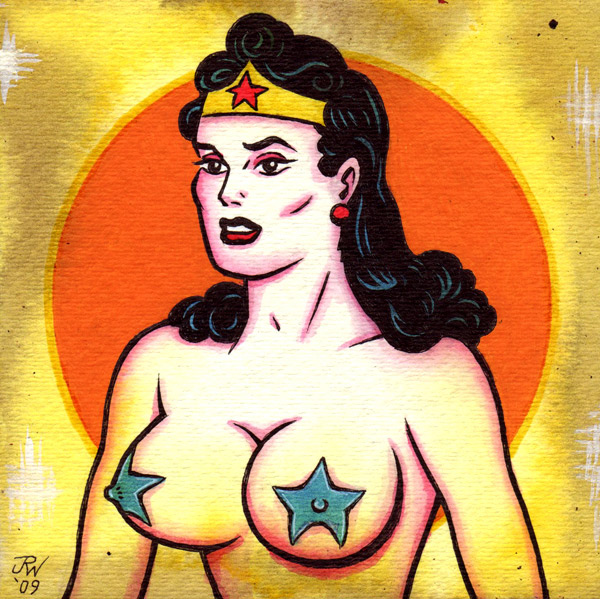 """Wonder Woman 2"" is copyright ©2008 by J.R. Williams.  All rights reserved.  Reproduction prohibited."