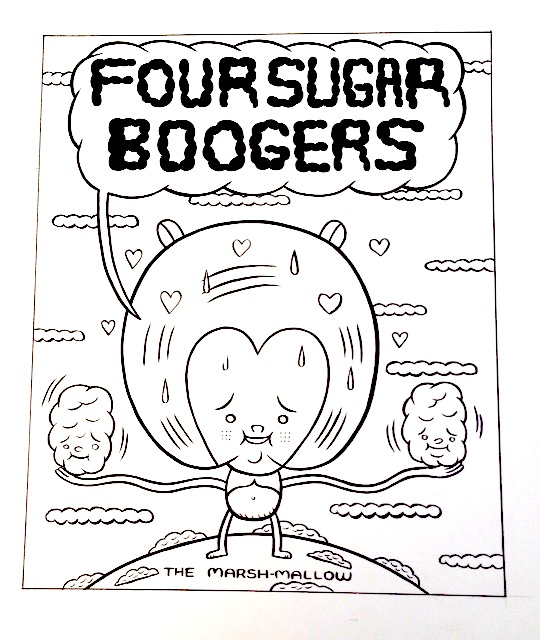 """The Marshmallow (Sugar Booger)"" is copyright ©2008 by Kevin Scalzo.  All rights reserved.  Reproduction prohibited."