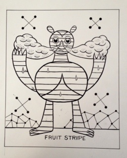 """Fruit Stripe (Sugar Booger)"" is copyright ©2008 by Kevin Scalzo.  All rights reserved.  Reproduction prohibited."