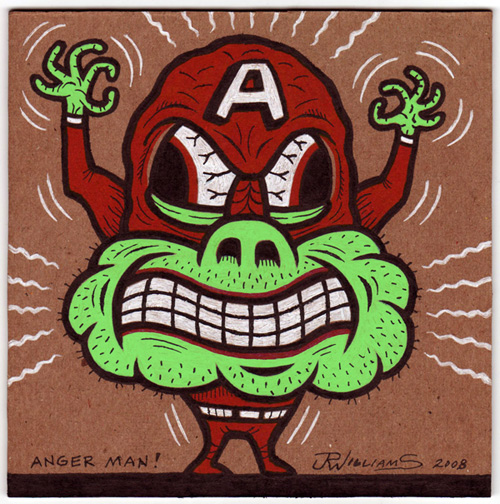 """Anger Man!"" is copyright ©2008 by J.R. Williams.  All rights reserved.  Reproduction prohibited."