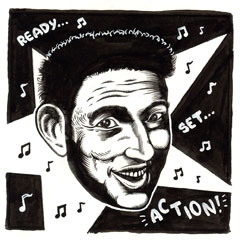 """Jonathan Richman"" is copyright ©2008 by Eric Reynolds.  All rights reserved.  Reproduction prohibited."