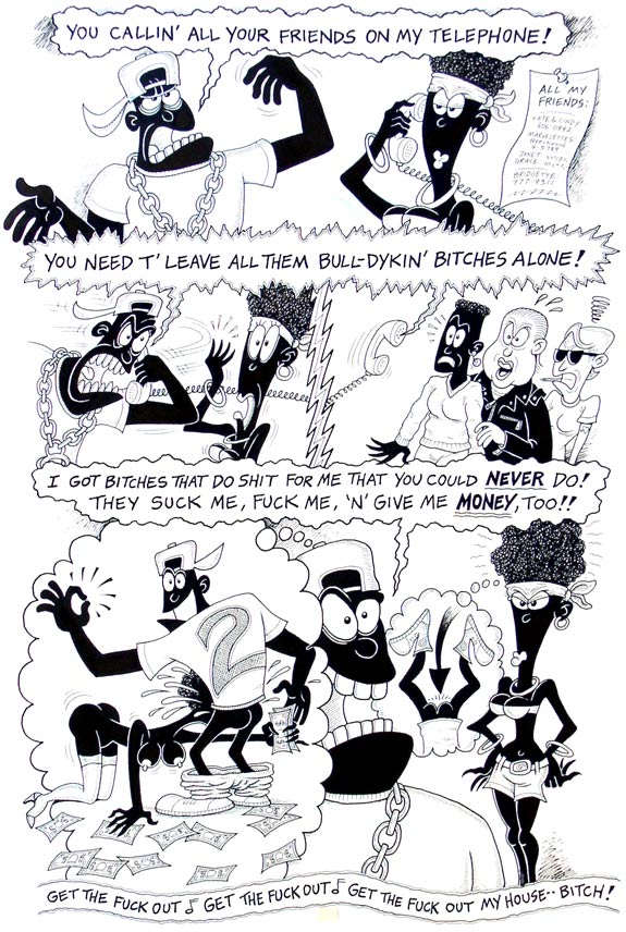 """2 LIVE CREW comics, page 3"" is copyright ©2008 by J.R. Williams.  All rights reserved.  Reproduction prohibited."
