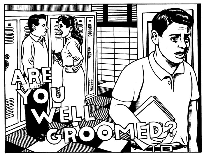 """Well Groomed (New Yorker)"" is copyright ©2008 by M. Kupperman.  All rights reserved.  Reproduction prohibited."