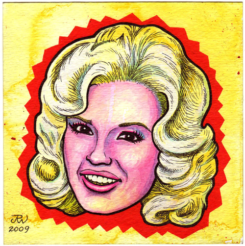 """Jayne Mansfield"" is copyright ©2008 by J.R. Williams.  All rights reserved.  Reproduction prohibited."