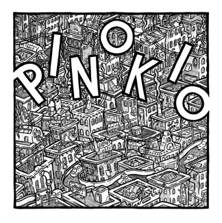 """PINOKIO Chapter Two mini comic cover"" is copyright ©2008 by Kurt Wolfgang.  All rights reserved.  Reproduction prohibited."
