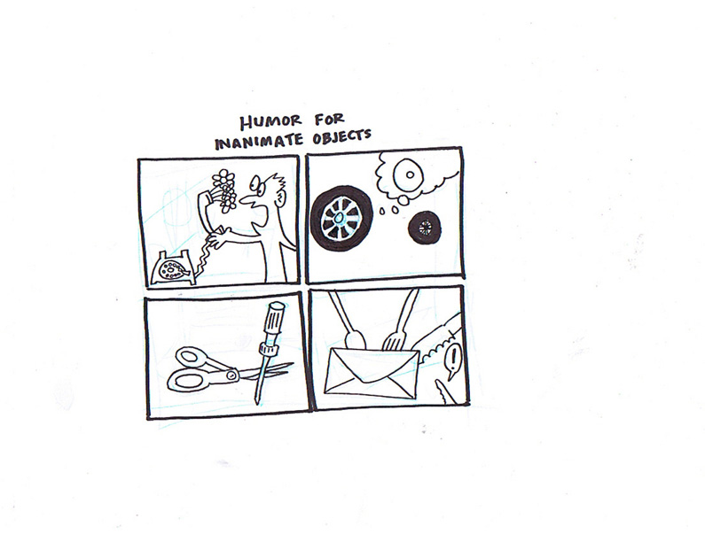 """Humor for Inanimate Objects"" is copyright ©2008 by Sam Henderson.  All rights reserved.  Reproduction prohibited."