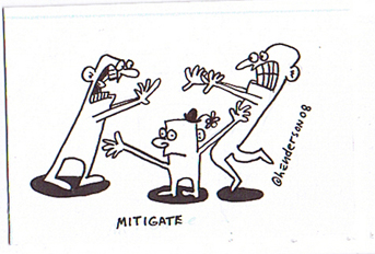 """MITIGATE"" is copyright ©2008 by Sam Henderson.  All rights reserved.  Reproduction prohibited."