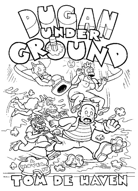 """'Dougan Under Ground' cover art"" is copyright ©2008 by Kim Deitch.  All rights reserved.  Reproduction prohibited."