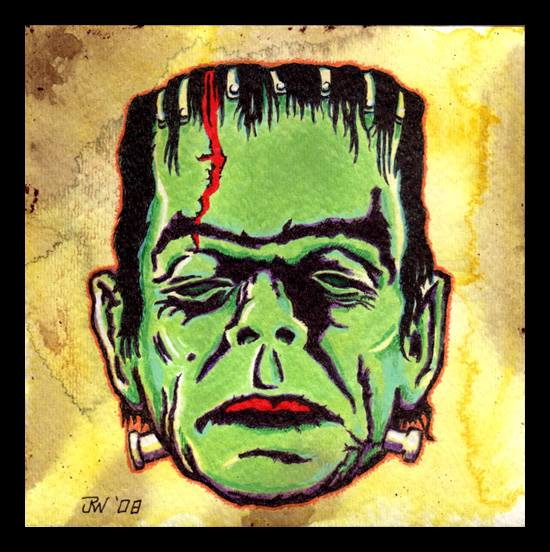 """Frankenstein's Monster"" is copyright ©2008 by J.R. Williams.  All rights reserved.  Reproduction prohibited."