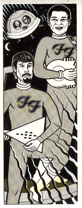 """Foo Fighters"" is copyright ©2008 by Eric Reynolds.  All rights reserved.  Reproduction prohibited."
