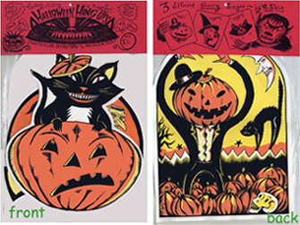 """Halloween Hang-Ups - 3 Silk-Screen Prints"" is copyright ©2008 by Richard Sala.  All rights reserved.  Reproduction prohibited."