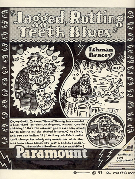 """Ishman Bracey's Rotting Teeth Blues"" is copyright ©2008 by Tony Mostrom.  All rights reserved.  Reproduction prohibited."