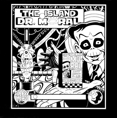 """THE ISLAND OF DR. MORAL - COVER"" is copyright ©2008 by Jeremy Eaton.  All rights reserved.  Reproduction prohibited."