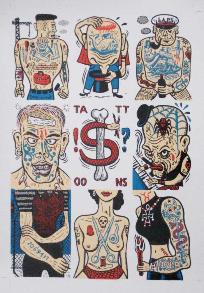 """Stinckers Tattoonz"" is copyright ©2008 by  Mats!?.  All rights reserved.  Reproduction prohibited."