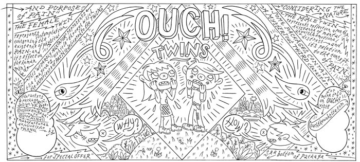 """OUCH - can art"" is copyright ©2008 by Ron Regé, Jr..  All rights reserved.  Reproduction prohibited."