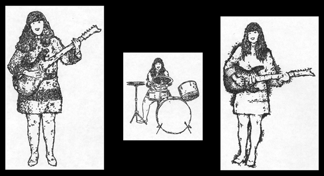 """THE SHAGGS"" is copyright ©2008 by J.R. Williams.  All rights reserved.  Reproduction prohibited."