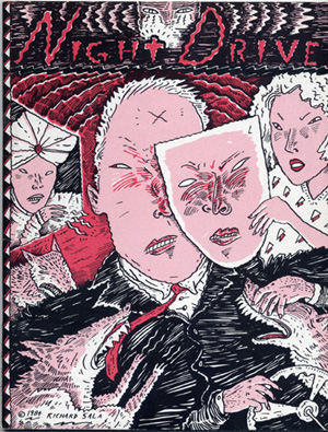 """Night Drive - Rare 1984"" is copyright ©2008 by Richard Sala.  All rights reserved.  Reproduction prohibited."