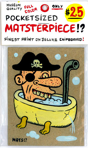 """Sponge Bath Pirate"" is copyright ©2008 by  Mats!?.  All rights reserved.  Reproduction prohibited."