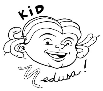 """Kid Medusa"" is copyright ©2008 by Steven Weissman.  All rights reserved.  Reproduction prohibited."