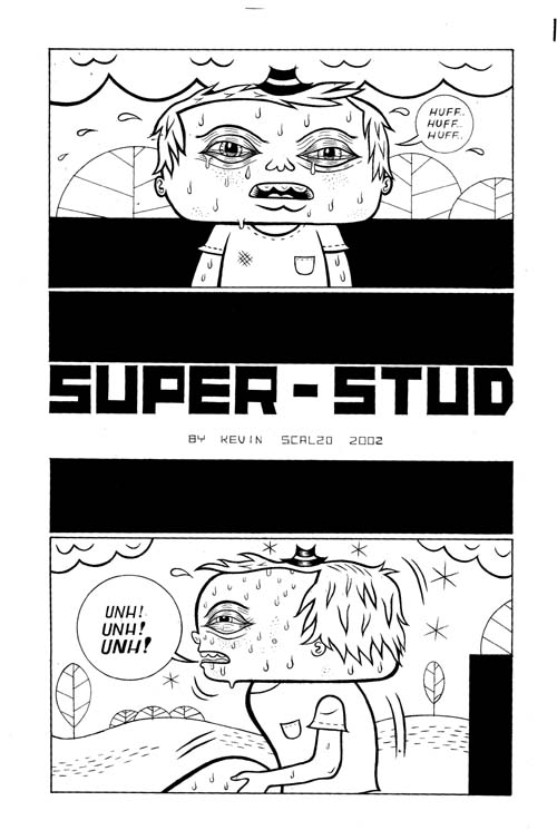 """Dirty Stories III: Super Stud pg. 1"" is copyright ©2008 by Kevin Scalzo.  All rights reserved.  Reproduction prohibited."