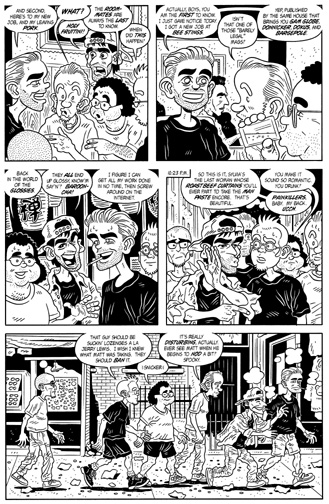 """MW #10, page 6"" is copyright ©2008 by Bob Fingerman.  All rights reserved.  Reproduction prohibited."