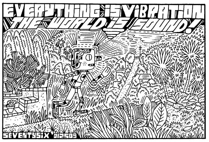 """ENTER THE CARTOON UTOPIA #76"" is copyright ©2008 by Ron Regé, Jr..  All rights reserved.  Reproduction prohibited."