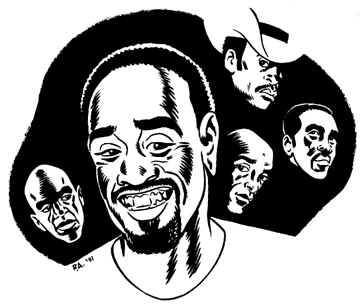 """Don Cheadle illustration"" is copyright ©2008 by Rick Altergott.  All rights reserved.  Reproduction prohibited."