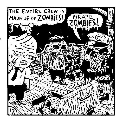 """A crew of Zombies!"" is copyright ©2008 by  Mats!?.  All rights reserved.  Reproduction prohibited."