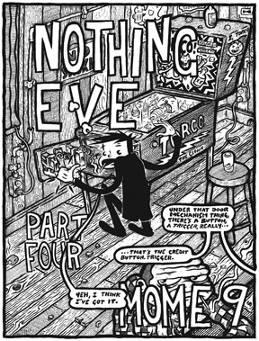"""Nothing Eve: Chapter Four title page"" is copyright ©2008 by Kurt Wolfgang.  All rights reserved.  Reproduction prohibited."