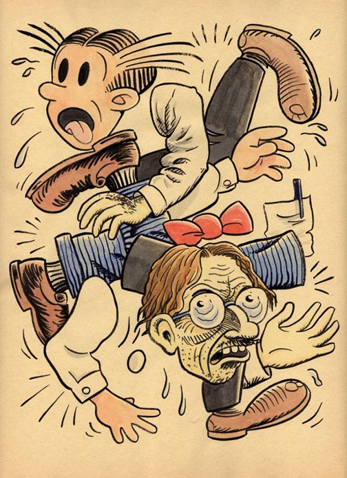 """*!!NEW JUMBLE- DAGWOOD & ROBERT CRUMB"" is copyright ©2008 by Jeremy Eaton.  All rights reserved.  Reproduction prohibited."