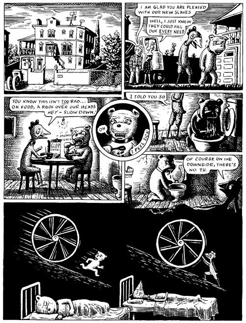 """Fuzz & Pluck chapter 2, page 3"" is copyright ©2008 by Ted Stearn.  All rights reserved.  Reproduction prohibited."