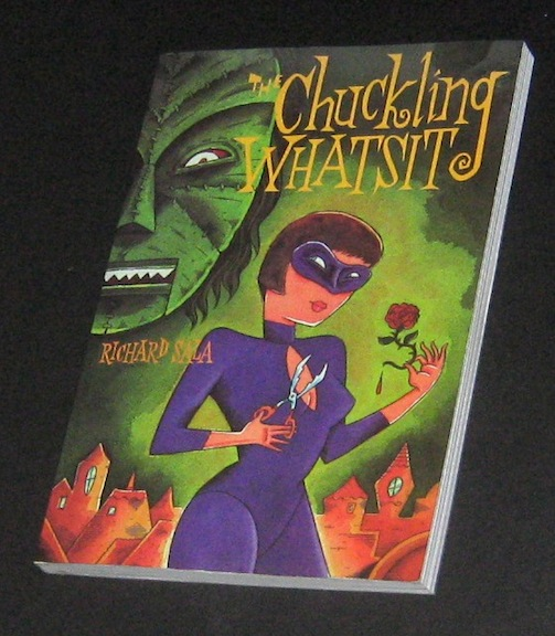 """The Chuckling Whatsit - signed 1st ed."" is copyright ©2008 by Richard Sala.  All rights reserved.  Reproduction prohibited."