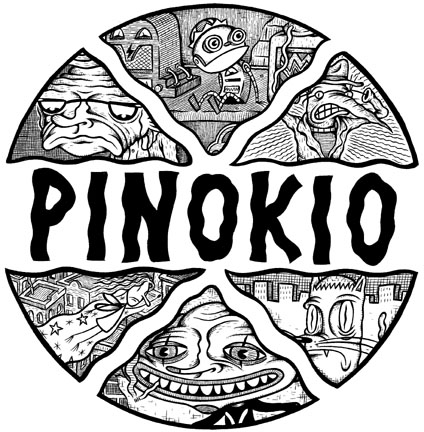 """'Pinokio' preview mini: cover"" is copyright ©2008 by Kurt Wolfgang.  All rights reserved.  Reproduction prohibited."