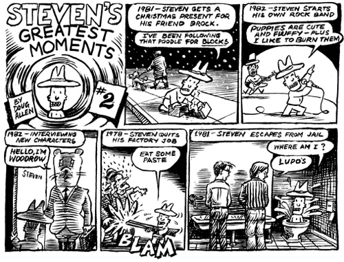 """Greatest Moments #2"" is copyright ©2008 by Doug Allen.  All rights reserved.  Reproduction prohibited."