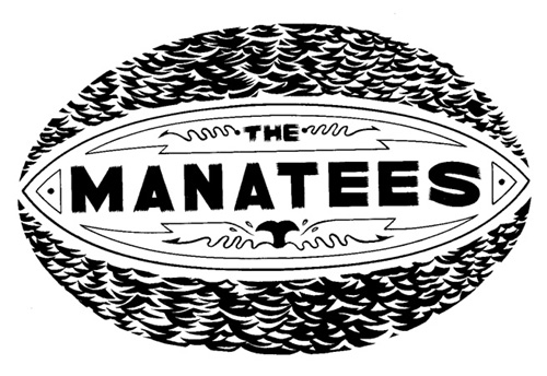 """Manatees Logo"" is copyright ©2008 by Eric Reynolds.  All rights reserved.  Reproduction prohibited."