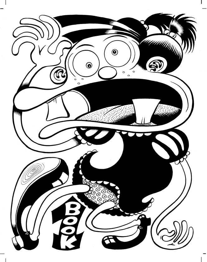 """Complete Neat Stuff Vol. 1 Cover"" is copyright ©2008 by Peter Bagge.  All rights reserved.  Reproduction prohibited."