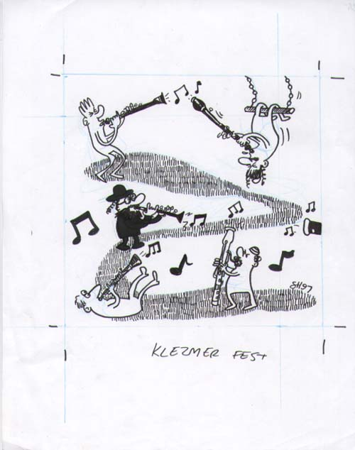 """Klezmer Fest"" is copyright ©2008 by Sam Henderson.  All rights reserved.  Reproduction prohibited."