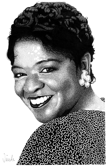 """NELL CARTER"" is copyright ©2008 by Jim Blanchard.  All rights reserved.  Reproduction prohibited."