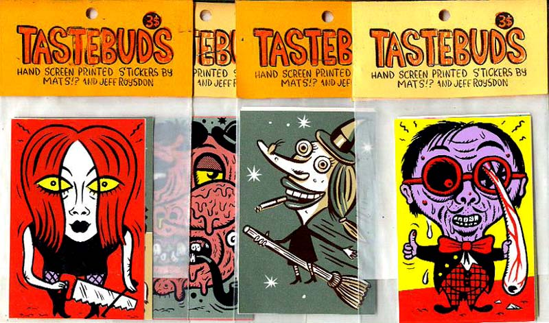 """Tastebuds Stickers"" is copyright ©2008 by  Mats!?.  All rights reserved.  Reproduction prohibited."