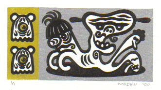 """block print 01"" is copyright ©2008 by Dennis Worden.  All rights reserved.  Reproduction prohibited."