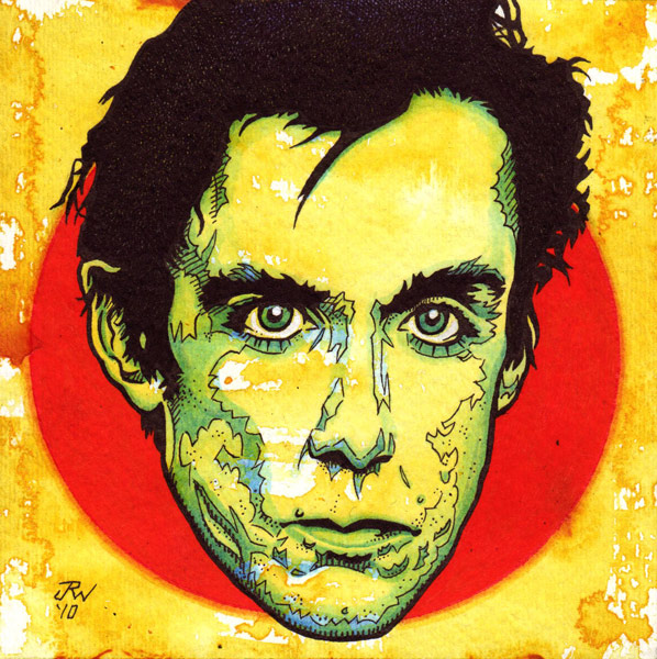 """Iggy Pop"" is copyright ©2008 by J.R. Williams.  All rights reserved.  Reproduction prohibited."
