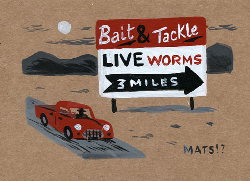 """Live Worms-3 miles"" is copyright ©2008 by  Mats!?.  All rights reserved.  Reproduction prohibited."