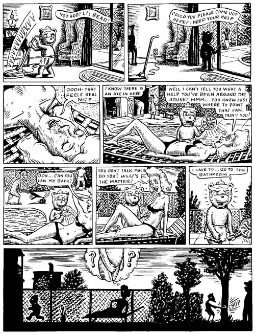 """Fuzz & Pluck chapter 2, page 5"" is copyright ©2008 by Ted Stearn.  All rights reserved.  Reproduction prohibited."