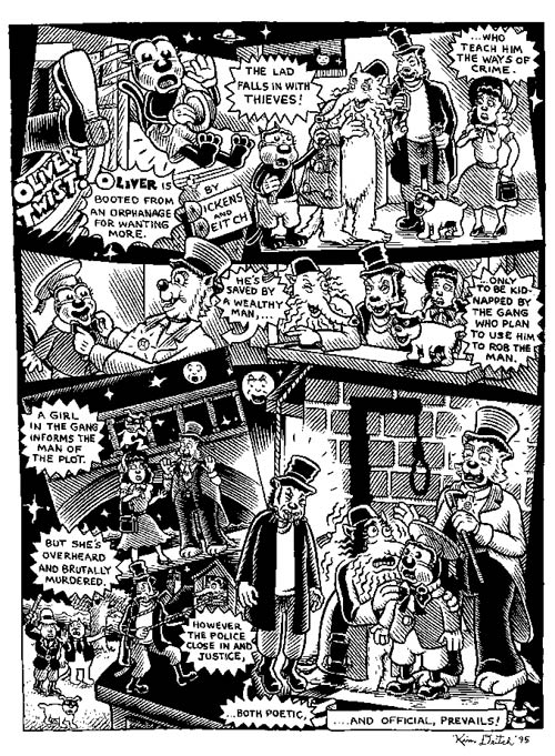"""Oliver Twist"" is copyright ©2008 by Kim Deitch.  All rights reserved.  Reproduction prohibited."