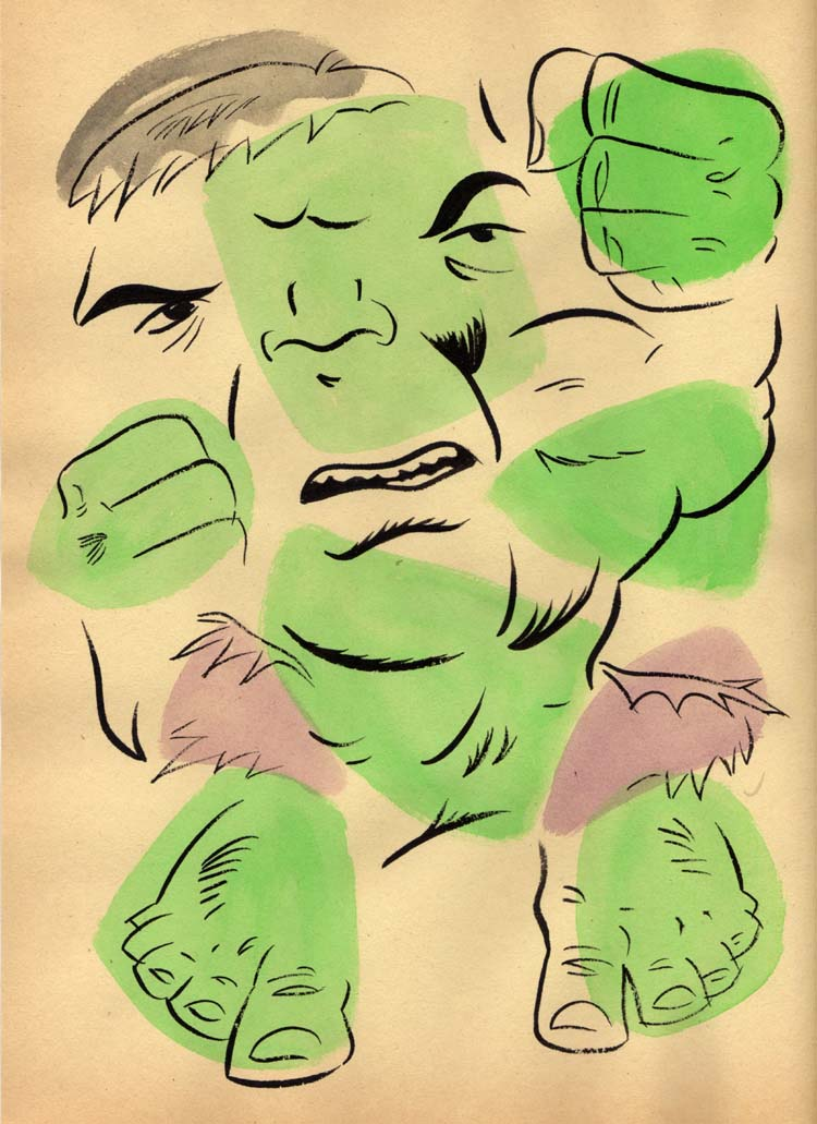 """NEO-EXPRESSIVE HULK"" is copyright ©2008 by Jeremy Eaton.  All rights reserved.  Reproduction prohibited."