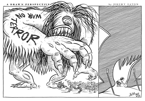 """THE TERROR BEAST!"" is copyright ©2008 by Jeremy Eaton.  All rights reserved.  Reproduction prohibited."