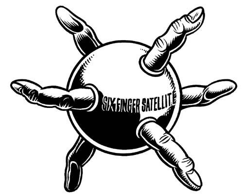 """Six-Finger Sattelite (Band Logo)"" is copyright ©2008 by Eric Reynolds.  All rights reserved.  Reproduction prohibited."