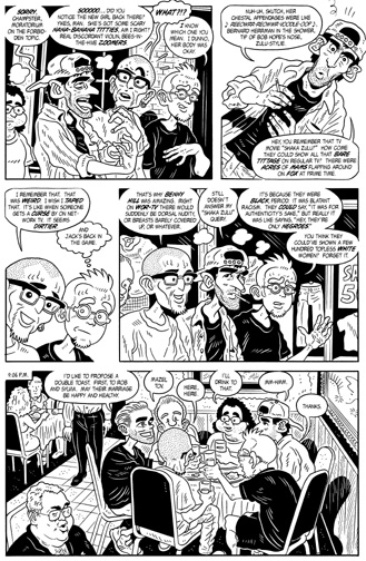 """MW #10, page 5"" is copyright ©2008 by Bob Fingerman.  All rights reserved.  Reproduction prohibited."