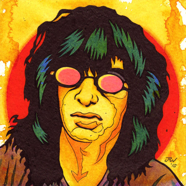 """Joey Ramone"" is copyright ©2008 by J.R. Williams.  All rights reserved.  Reproduction prohibited."