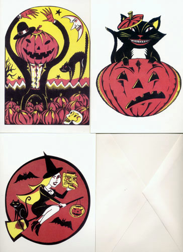 """Halloween Cards!"" is copyright ©2008 by Richard Sala.  All rights reserved.  Reproduction prohibited."
